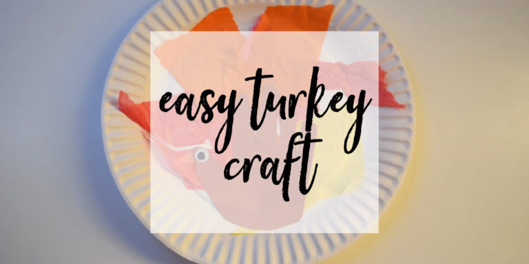 Easy Thanksgiving Turkey Craft
