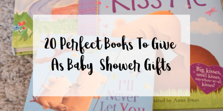 Baby Shower Gift Book Ideas