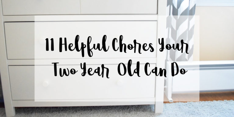 11 Helpful Chores Your Two-Year-Old Can Do