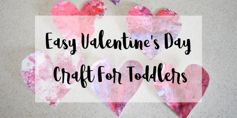 Easy Valentine's Day Craft for Toddlers