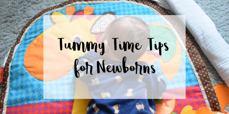 Tummy Time Tips for Newborns (From Birth to 2 Months Old)