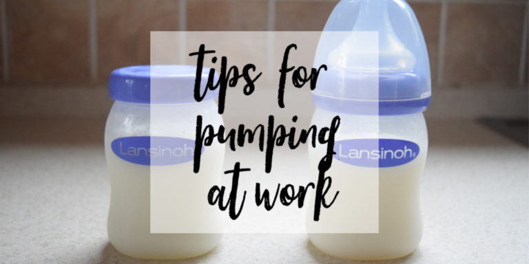 Tips for Pumping at Work for Breastfeeding Moms