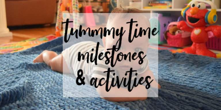 Tummy Time Activities & Milestones (for Babies 3 to 6 Months)