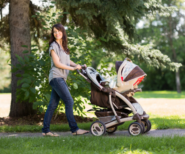 A stroller is an essential newborn product you'll want to have for the first three months