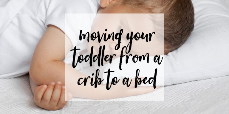 Tips for Moving Your Three Year Old from a Crib to a Bed