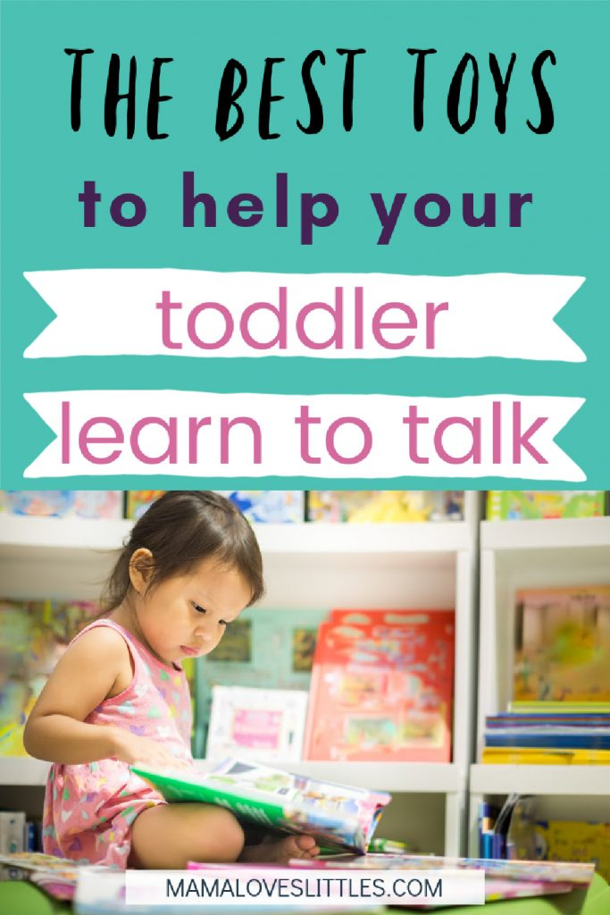 The best toys to help your toddler learn to talk